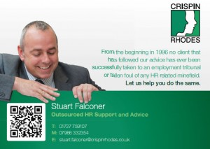 Outsourced human resources - avoid the tribunal with quality HR advice.