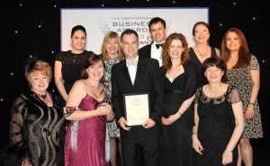 The Business Buzz Team at the Herts FSB Awards