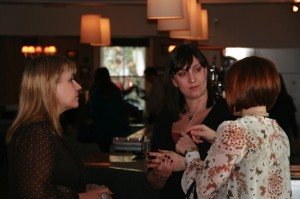 Run a networking group - people chatting